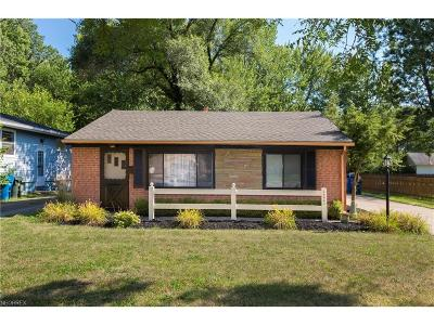 Olmsted Falls Single Family Home For Sale: 26063 Myrtle Ave