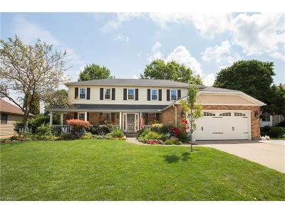 Rocky River Single Family Home For Sale: 3407 Kings Mill Run