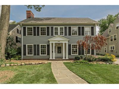 Shaker Heights Single Family Home For Sale: 3329 Grenway Rd