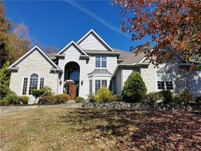 Chagrin Falls Single Family Home For Sale: 17351 Coldwater Trl