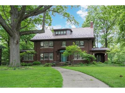 Cleveland Heights Single Family Home For Sale: 3121 Fairmount Blvd