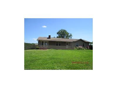Guernsey County Single Family Home For Sale: 61912 High Hill Rd