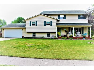 North Ridgeville Single Family Home For Sale: 8636 Harris Dr