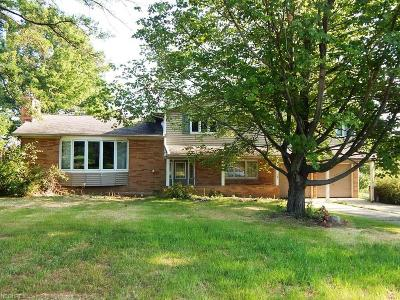 Brecksville, Broadview Heights Single Family Home For Sale: 8545 Snowville Rd