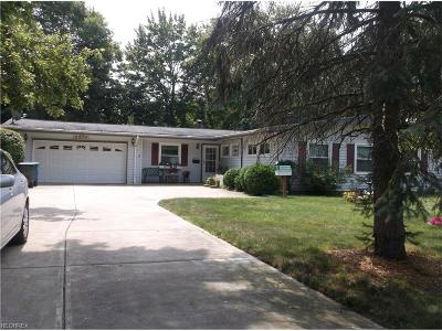 Olmsted Falls Single Family Home For Sale: 8975 Lindberg Blvd