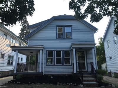 Lakewood Single Family Home For Sale: 2182 Waterbury Rd