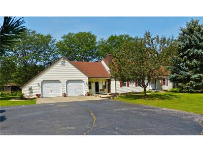 Madison Single Family Home For Sale: 2880 County Line Rd