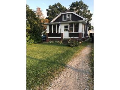 Hinckley Single Family Home For Sale: 1612 Center Rd