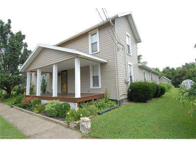 Muskingum County, Morgan County, Perry County, Guernsey County Single Family Home For Sale: 318 High