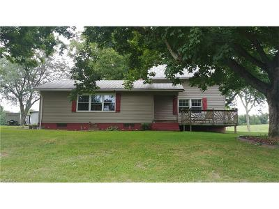 Guernsey County Single Family Home For Sale: 12431 Battle Ridge Rd