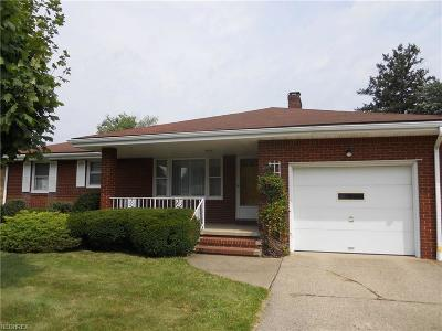 Struthers Single Family Home For Sale: 409 Geneva Ave
