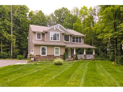Chagrin Falls Single Family Home For Sale: 10740 Crackel Rd