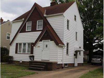 Cleveland Single Family Home For Sale: 12820 Thraves Ave