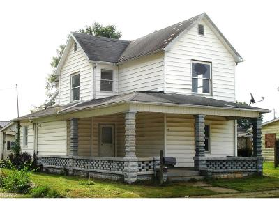Guernsey County Single Family Home For Sale: 601 South 9 Th St