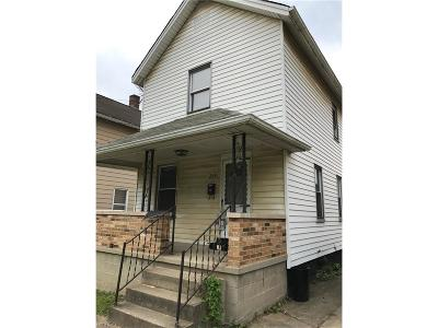 Girard Single Family Home For Sale: 248 South Davis St