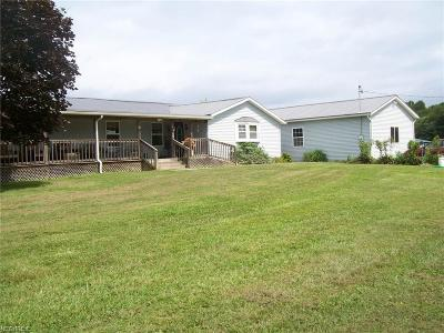 Guernsey County Single Family Home For Sale: 3883 Twin Sisters Rd