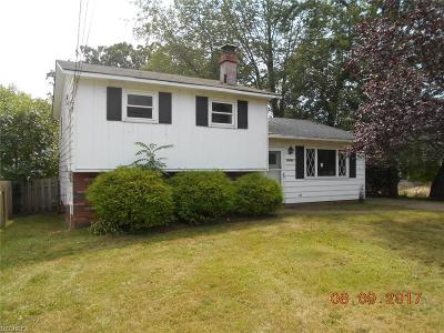 Willoughby Single Family Home For Sale: 38292 Lake Shore Blvd