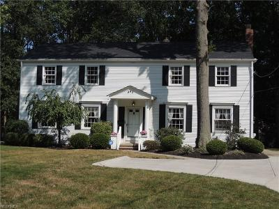 Westlake Single Family Home For Sale: 945 Dover Center Rd North