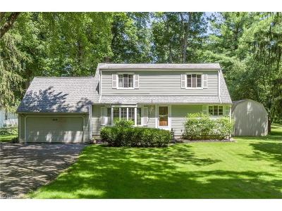 Willoughby Hills Single Family Home For Sale: 2575 Dodd Rd
