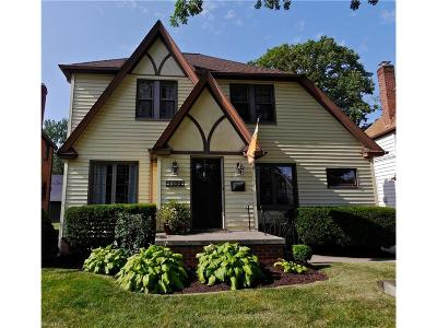 Rocky River Single Family Home For Sale: 20612 Erie Rd