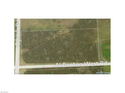 Residential Lots & Land For Sale: Oyster Rd