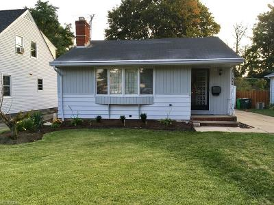 Wickliffe Single Family Home For Sale: 2228 Rockefeller Rd
