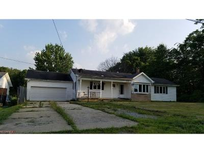 Single Family Home For Sale: 11939 West Middletown Rd