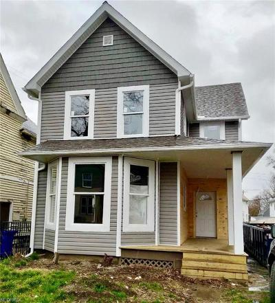 Cleveland Single Family Home For Sale: 7508 Rutledge Ave