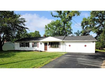 Bedford Heights Single Family Home For Sale: 6270 Randolph Rd