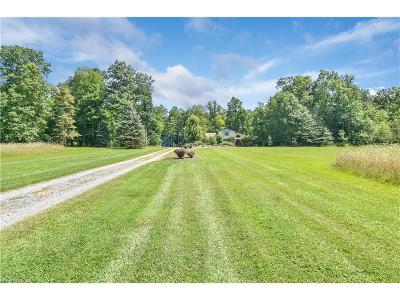 Poland Single Family Home For Sale: 7575 Struthers Rd