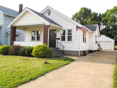 Girard Single Family Home For Sale: 38 Townsend Ave