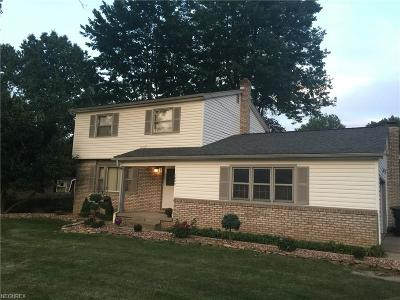 Youngstown Single Family Home For Sale: 1805 Lancaster Dr