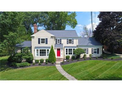 Shaker Heights Single Family Home For Sale: 21749 Parnell Rd
