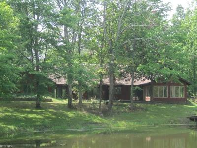 Single Family Home For Sale: 3800 Cook Rd