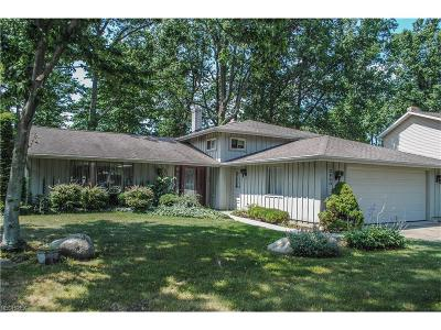 North Olmsted Single Family Home For Sale: 3860 Woodpark Ln