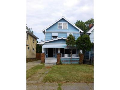 Cleveland Single Family Home For Sale: 3355 West 95th St