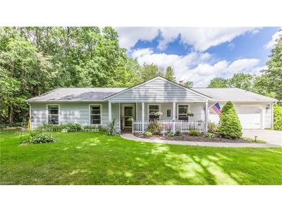 Geauga County Single Family Home For Sale: 10936 Fairmount Rd