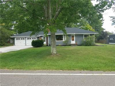 Windham OH Single Family Home For Sale: $129,900