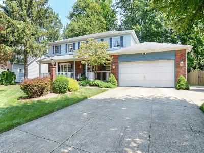 North Olmsted Single Family Home For Sale: 5563 Pheasants Walk Dr
