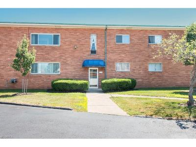 Rocky River Condo/Townhouse For Sale: 1742 Wagar Rd #110