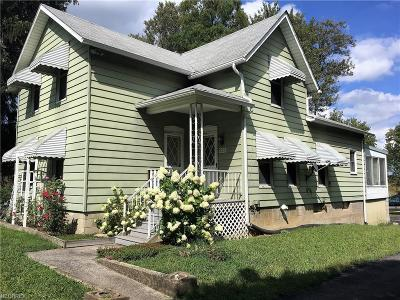 Elyria Single Family Home For Sale: 7395 Lake Ave