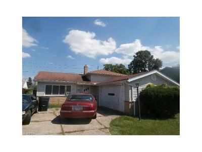 Cleveland Single Family Home For Sale: 4151 East 188th St