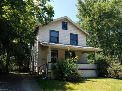 Youngstown Single Family Home For Sale: 3922 Erie St
