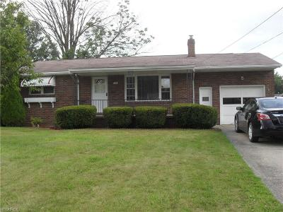 Struthers Single Family Home For Sale: 211 Overlook Blvd