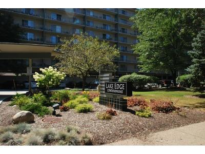 Cleveland Condo/Townhouse For Sale: 10301 Lake Ave #608