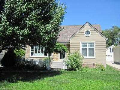 Bay Village Single Family Home For Sale: 30628 Maple Dr