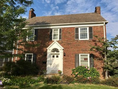 Shaker Heights Single Family Home For Sale: 3296 Stockholm Rd