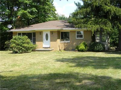 Wadsworth Single Family Home For Sale: 7853 Ridge Rd