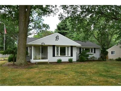 Westlake Single Family Home For Sale: 792 Dover Center Rd