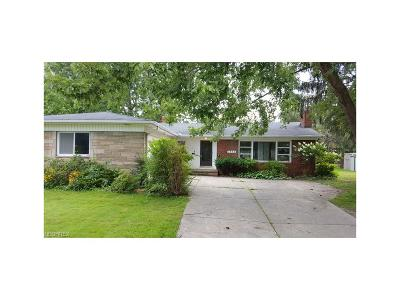 Cleveland Single Family Home For Sale: 1835 Brainard Rd